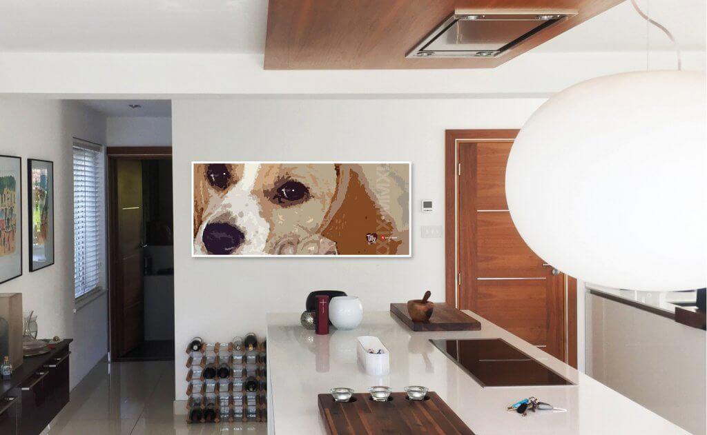 Tilly Beagle Kitchen