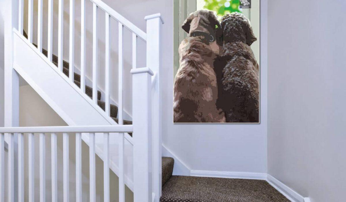 Baker Boys Stairs Print
